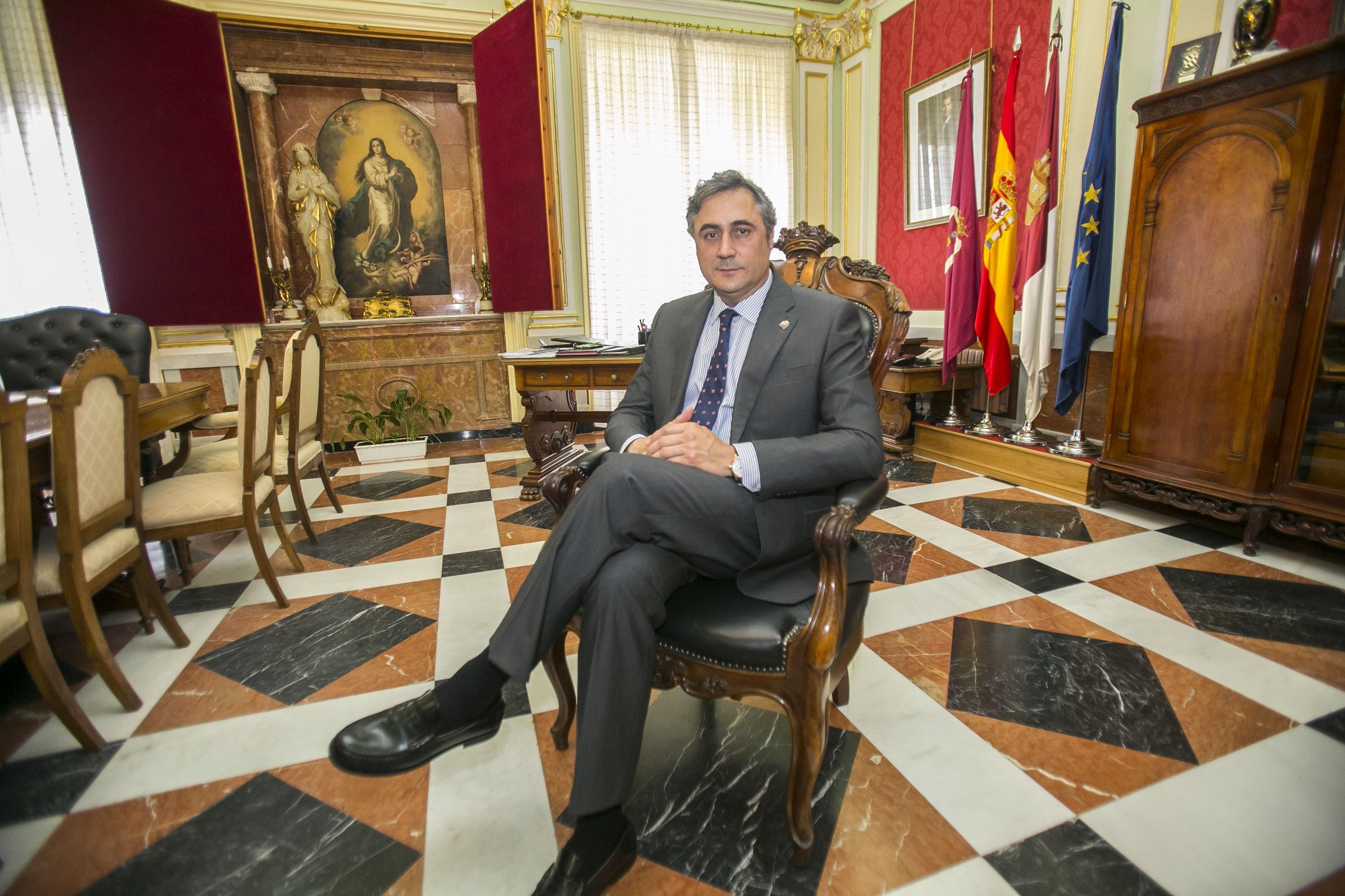 Alcalde de Cuenca. Angel Mariscal Estrada